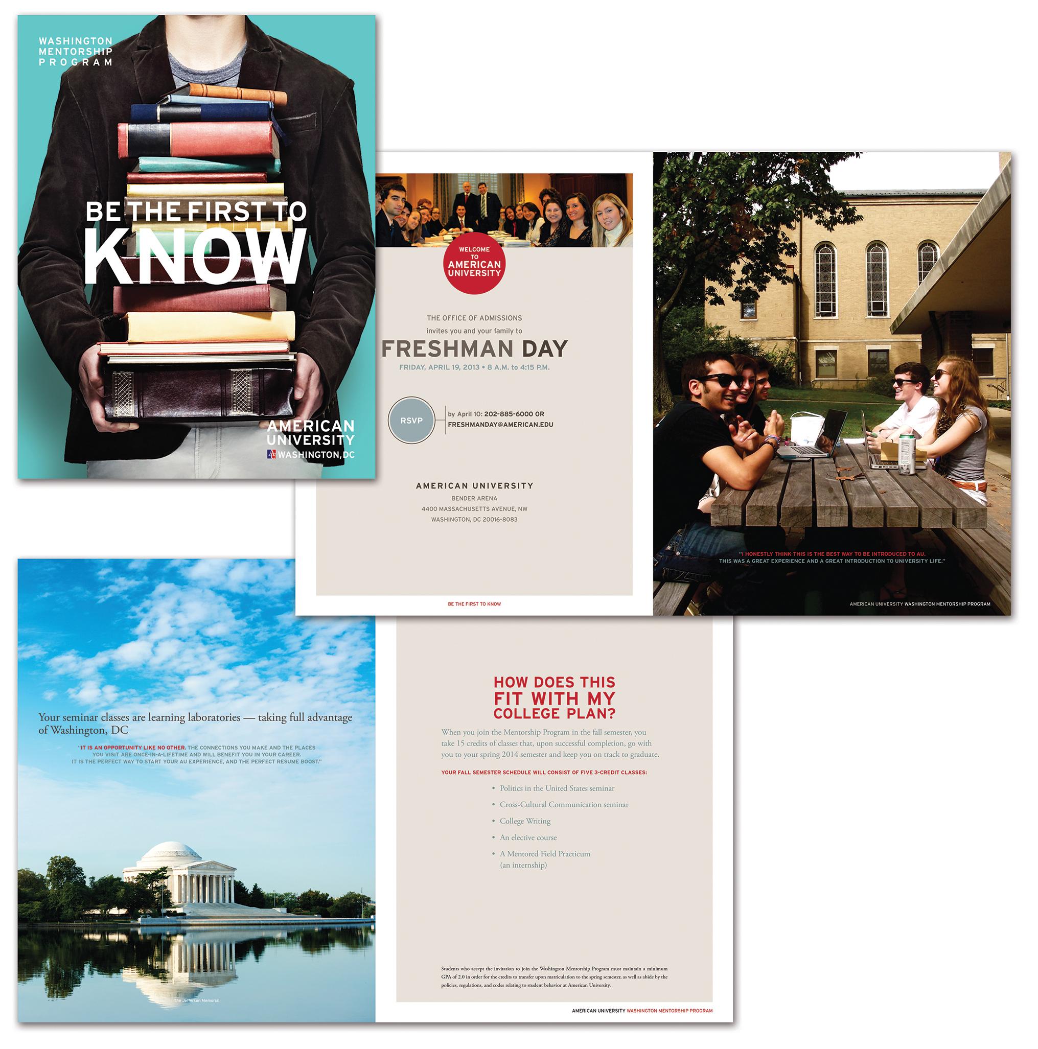 University Recruitment Brochure