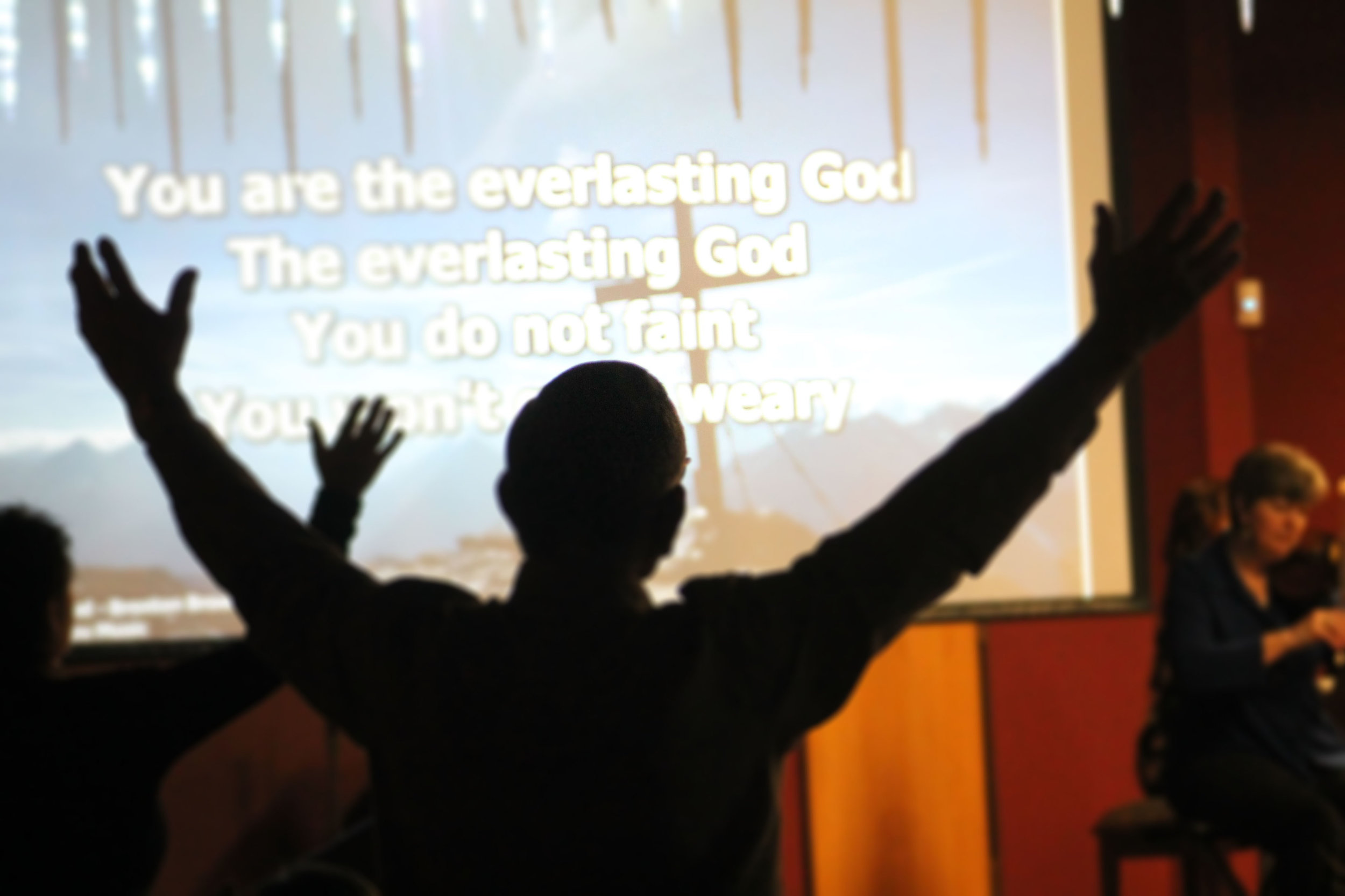 SUNDAYS   8:30 & 10:30 AM  We'd love to meet you   Find Out More