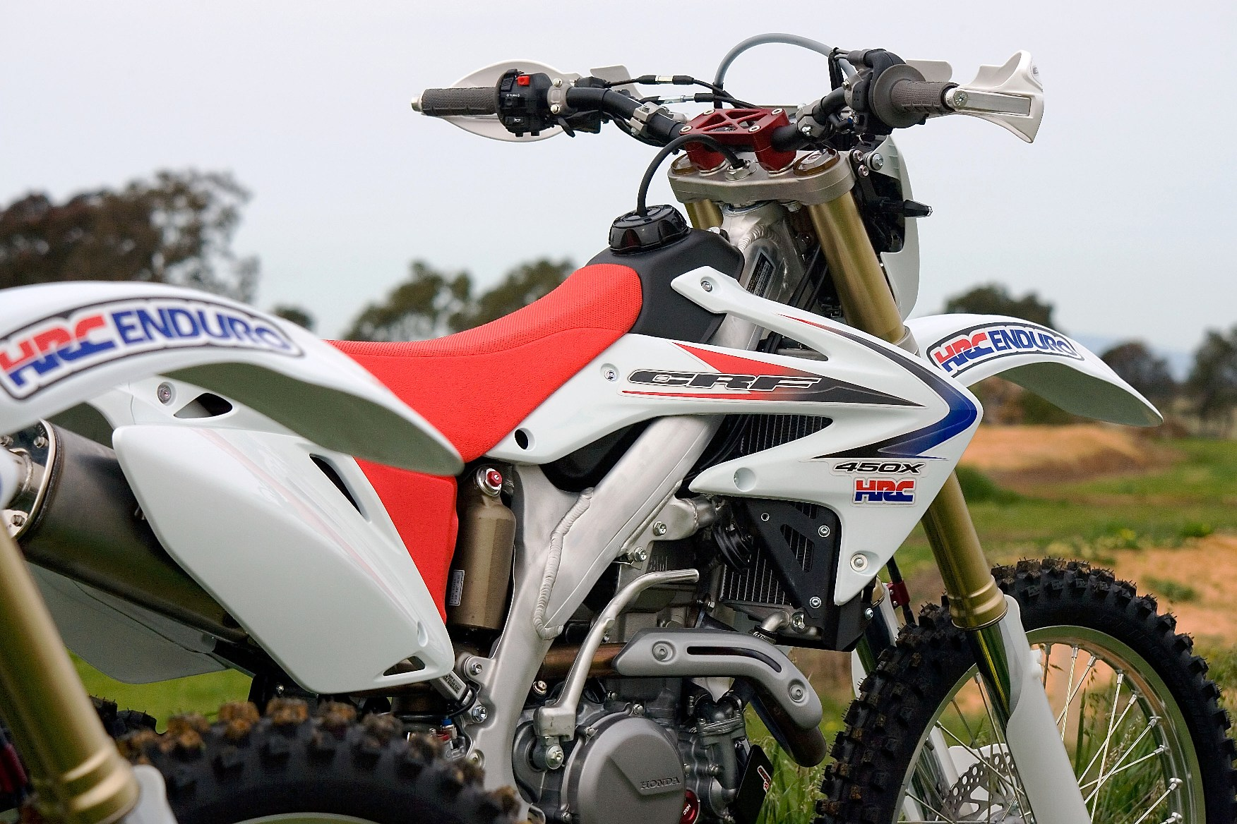 The bosses Limited Editon HRC CRF450X