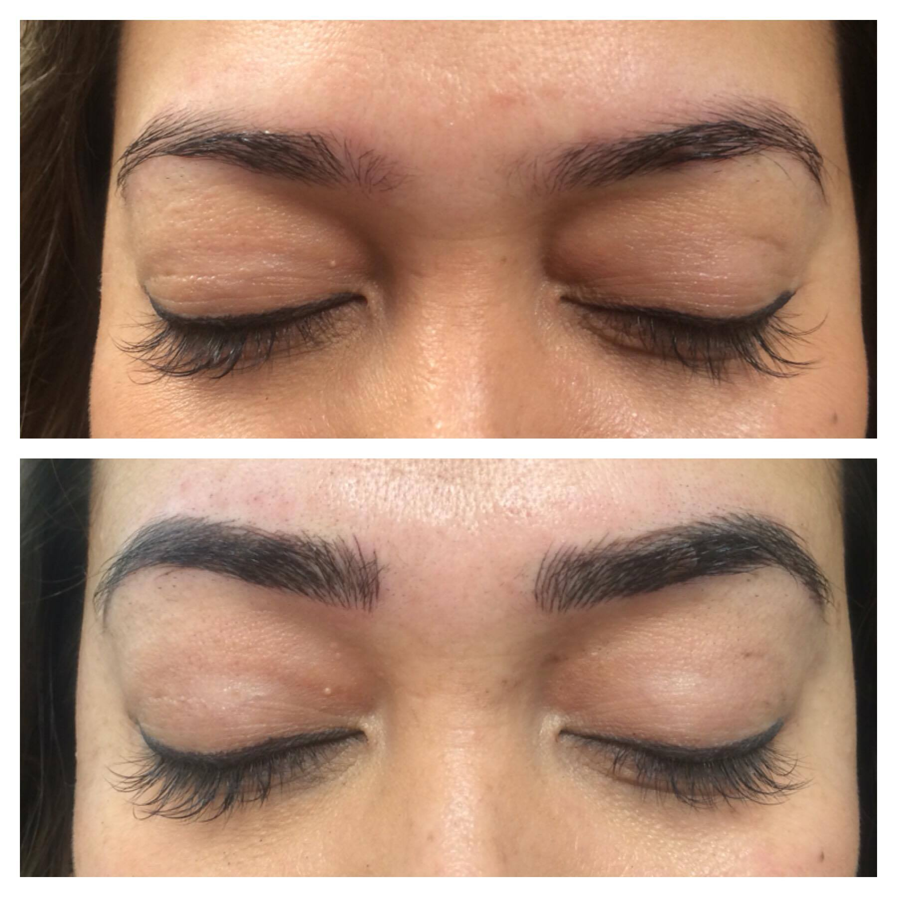 toronto microblading before and after