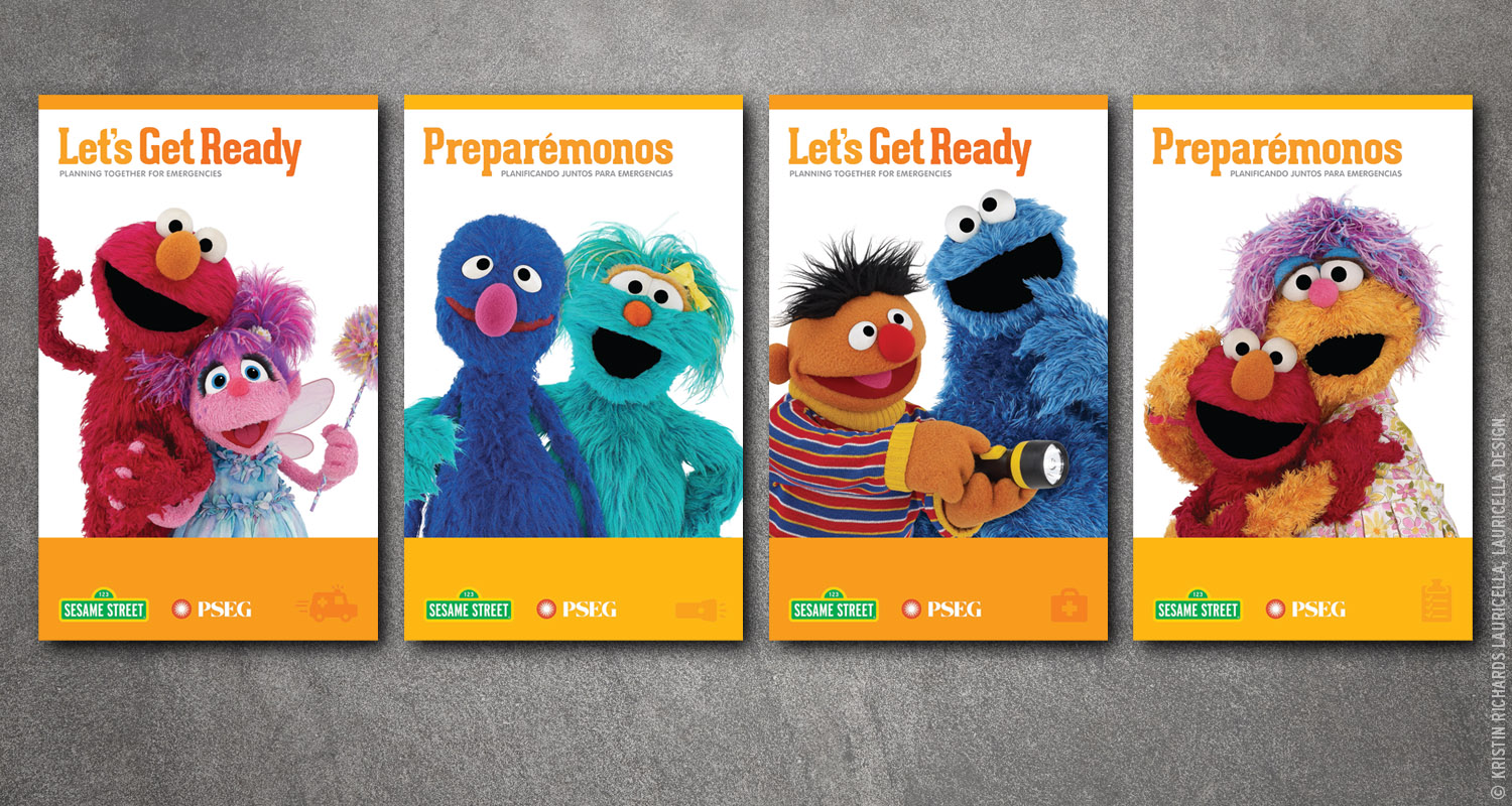 "Emergency Preparedness ""Let's Get Ready"" launch event banners"