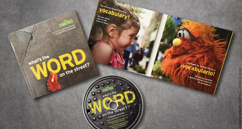 Word on the Street promotional kit (Sesame Street Season 38)