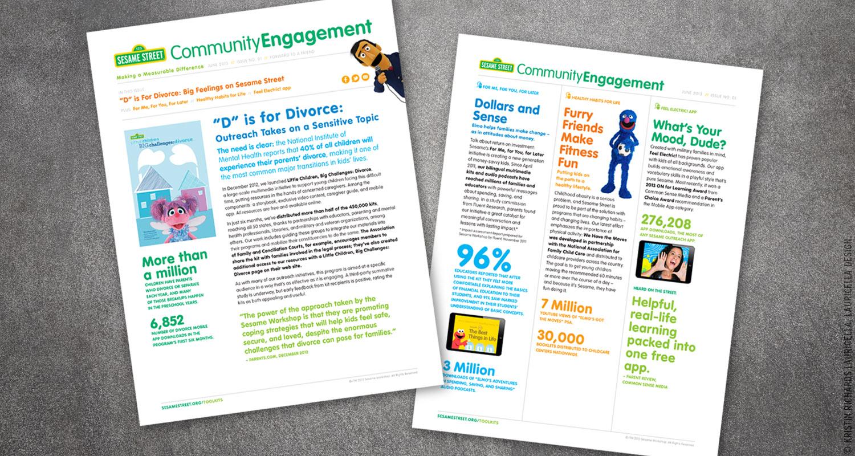 Internal Newsletter for the Sesame Community Engagement team