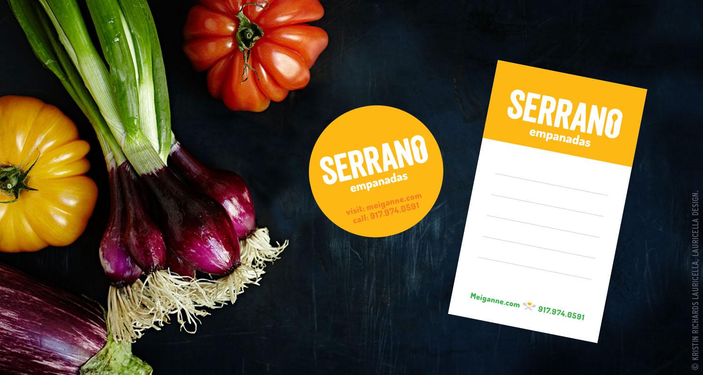 Empanadas Sticker and Delivery Note