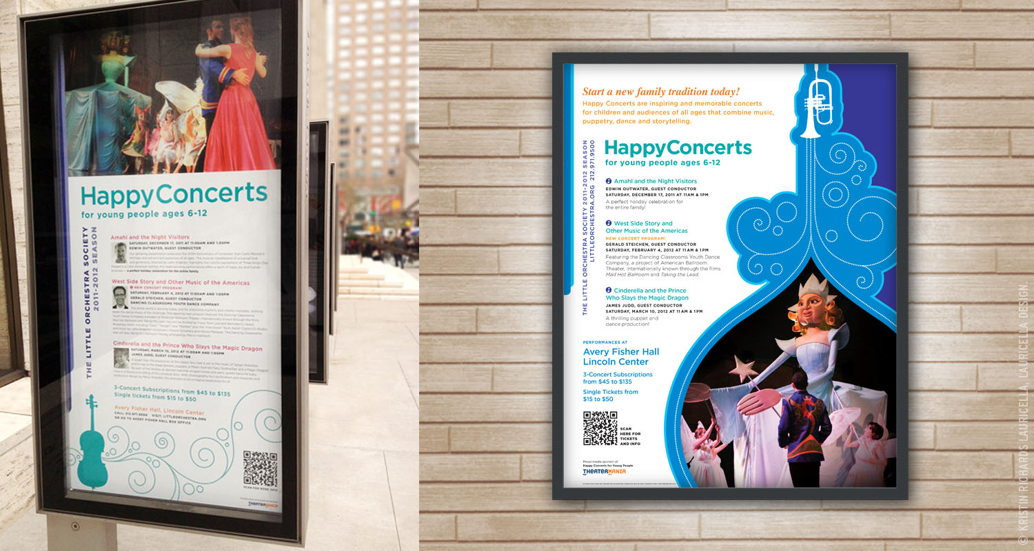 Lincoln Center Outdoor Signage & Poster