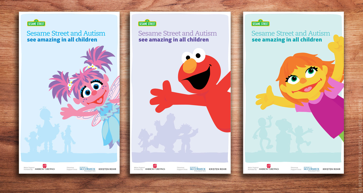 "Sesame Street & Autism ""See Amazing in All Children"" Launch Event Banners"