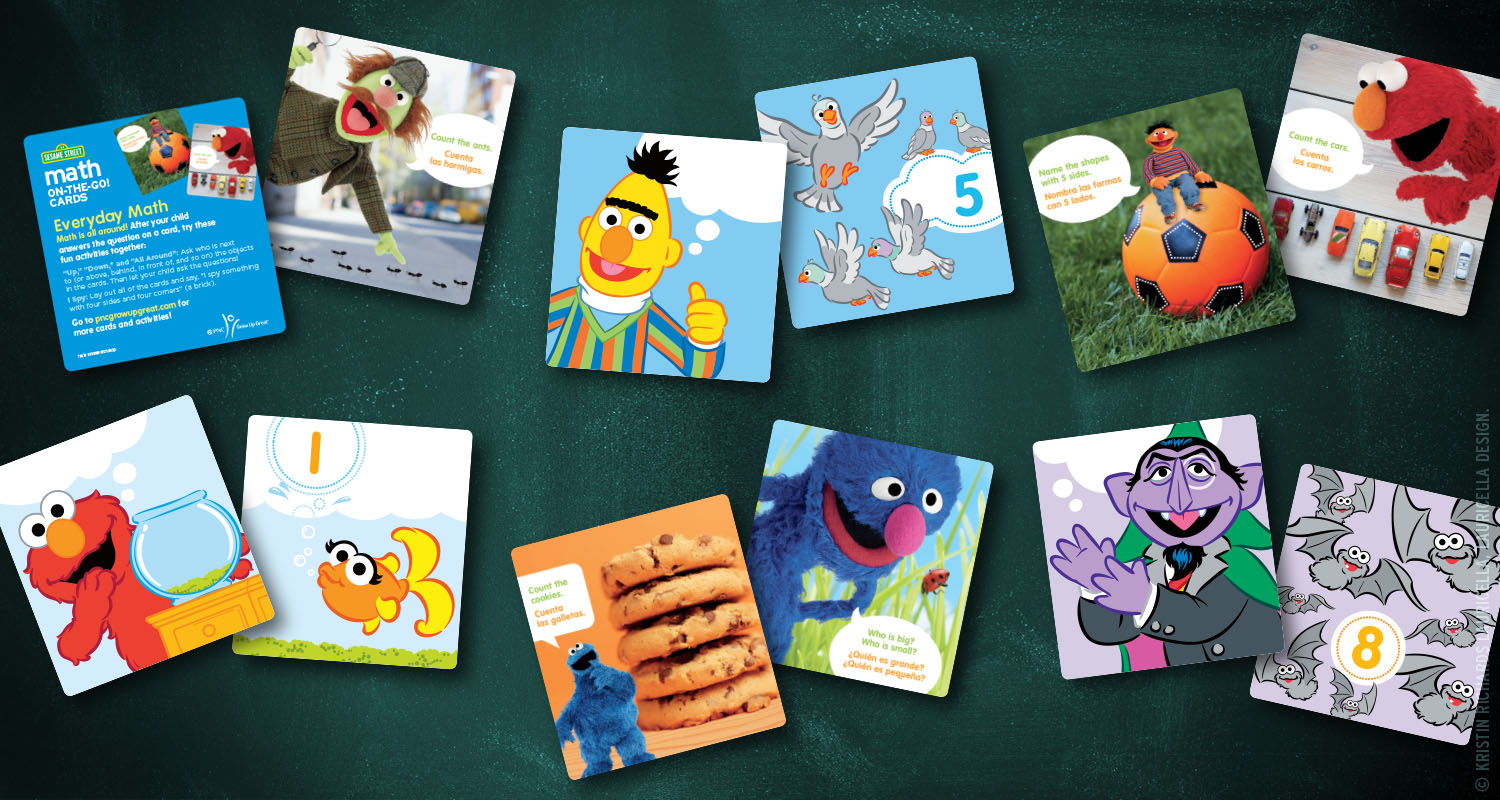 "Math is Everywhere ""Math-on-the-Go"" Mini Activity Cards"