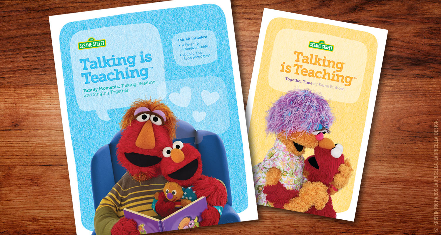 "Early Literacy ""Talking is Teaching"" Kit"