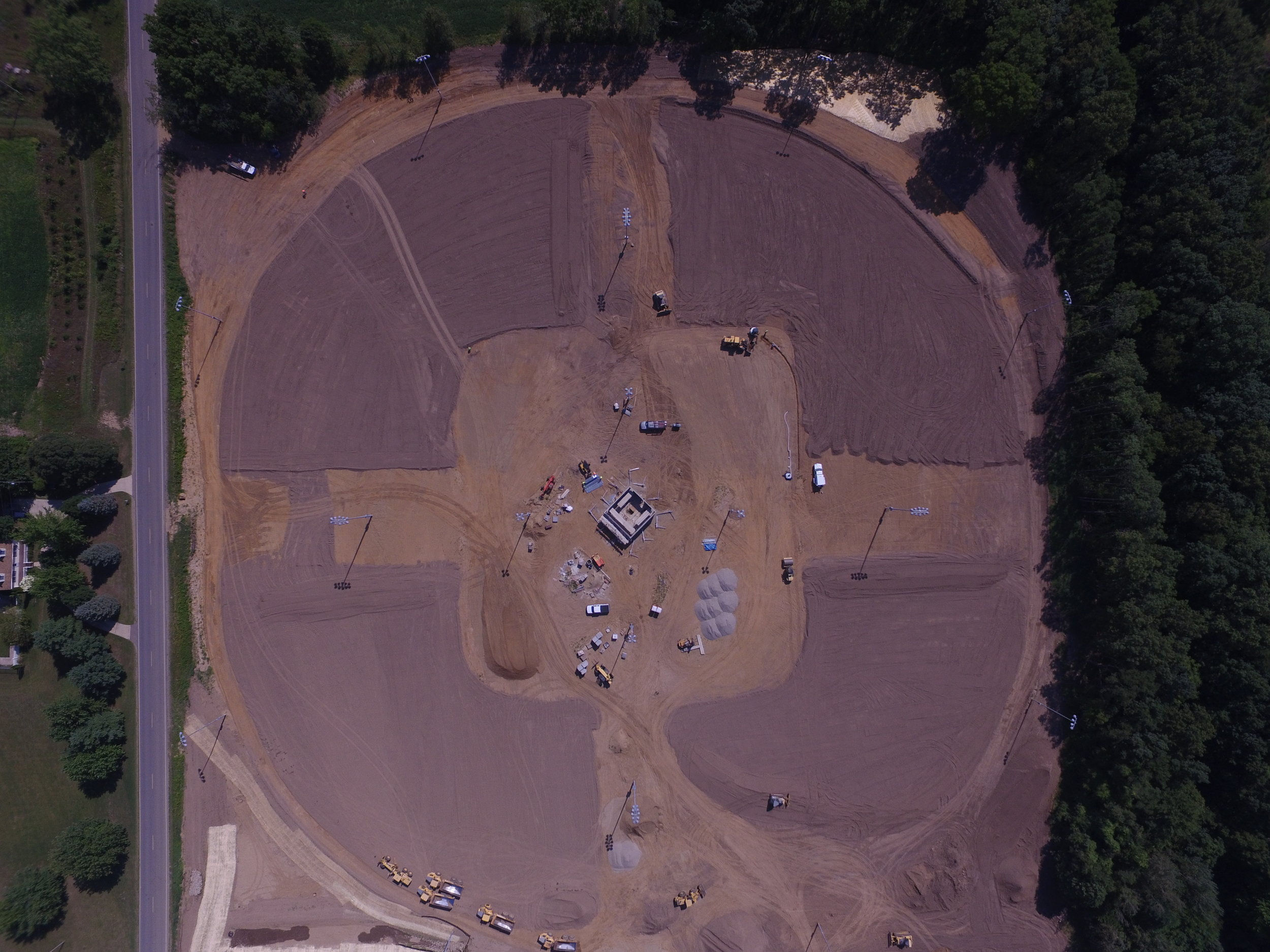 Spence Softball Complex - Drone Images