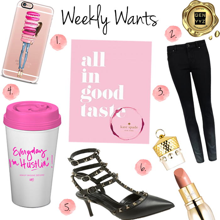 Weekly Wants   - Casetify - Kate Spade - Kate Spade New York - Ted Baker - Ashley Brooke Designs - Valentino - Valentino Rockstuds - Christian Louboutin - Louboutin - GenerationYYZ - Toronto Blog | Toronto Lifestyle Blog | Toronto Luxury Lifestyle Blog | Lifestyle Blog | Toronto's Luxury Lifestyle Blog | Toronto Blogger | Toronto Lifestyle Blogger | Blogger