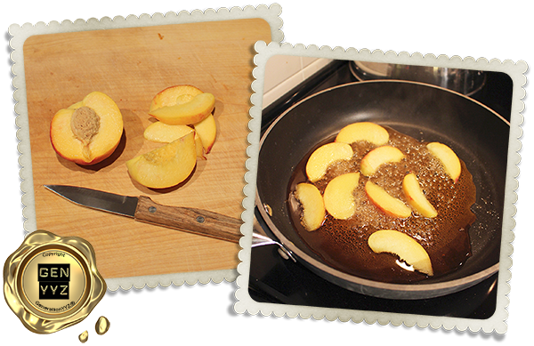 Gastronomy & Recipes: French Toast with Cottage Cheese & Maple Caramelized Peaches - Gay Lea - GenerationYYZ - Toronto Blog | Toronto Lifestyle Blog | Toronto Luxury Lifestyle Blog | Lifestyle Blog | Toronto's Luxury Lifestyle Blog | Toronto Blogger | Toronto Lifestyle Blogger | Blogger