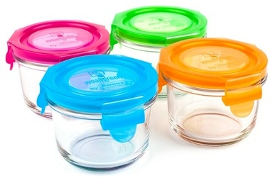 My FAV containers for smaller snacks ~ Wean Green by Glasslock