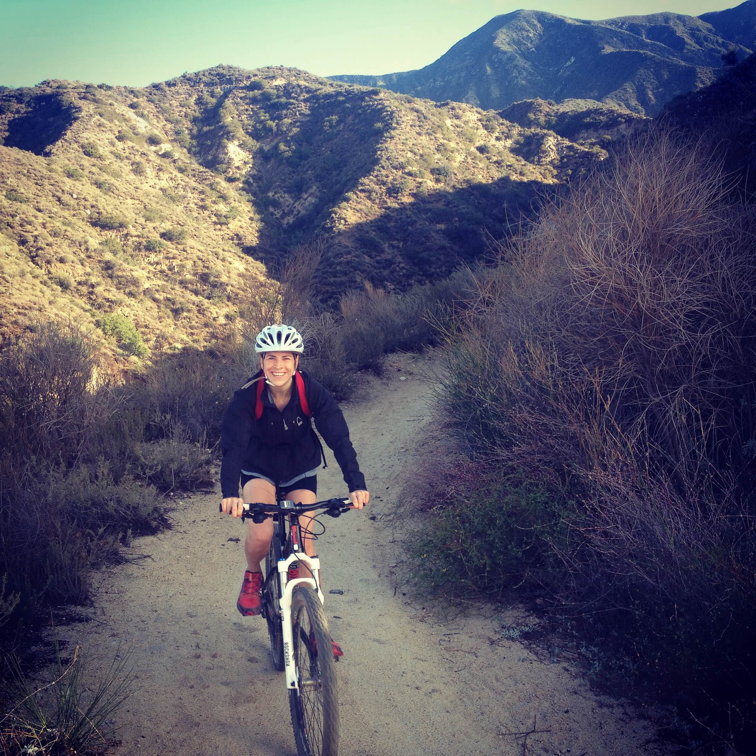 Getting rad in the San Gabriels with Lulu the Mtn. Bike.