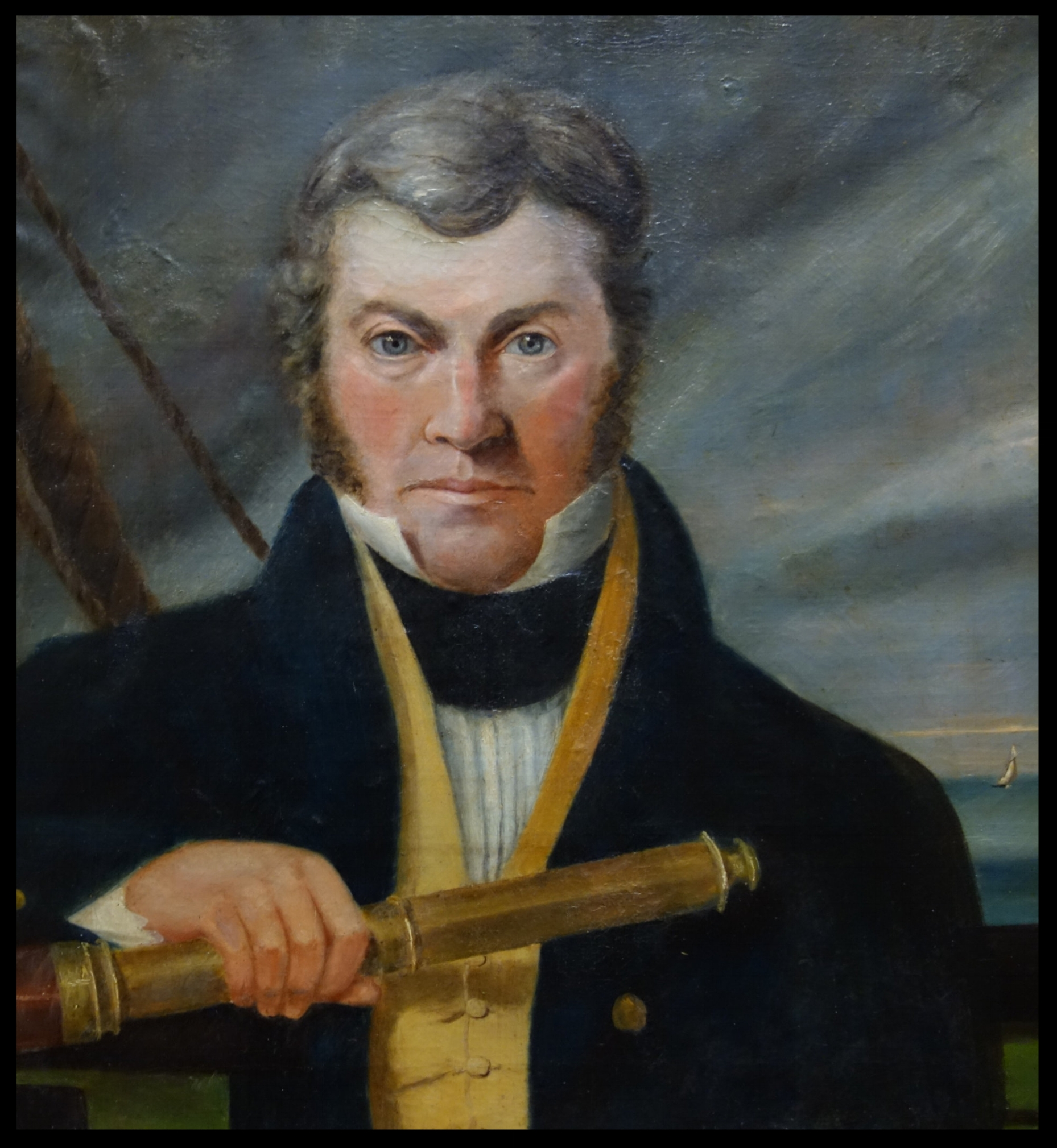 Portrait of Captain William Kinghorne by T.J. Lempriere, 1834, oil on canvas. National Portrait Gallery, Canberra. Purchased with funds provided by The Ian Potter Foundation 2007.