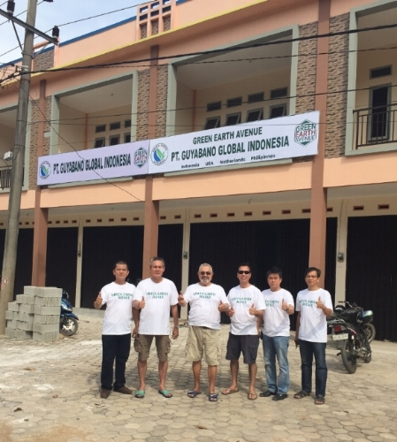 Brand new factory with our Team in Kalimantan, Indonesia