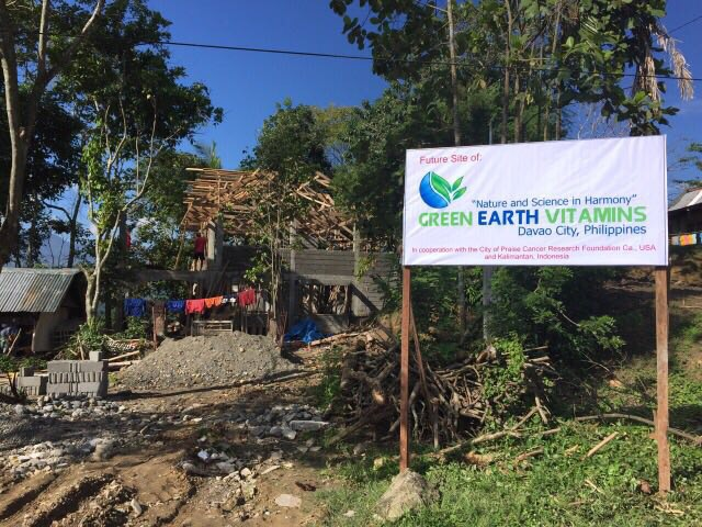 Green Earth Vitamins, Inc. expansion into Davao City, Philippines.
