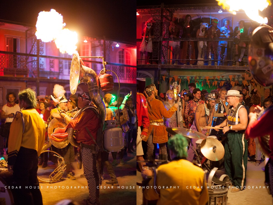 burning man, burning man 2015, playa, playa portraits, burning man photography, burning man photographer, burning man art, burning man bourbon street, burning man french quarter, flaming tuba, burning man new orleans, burning man at night, burning man band, burning man portraits