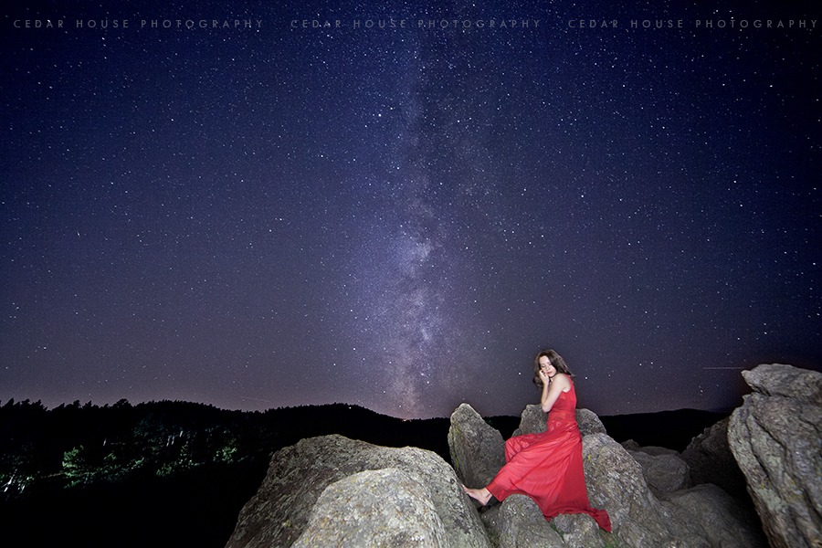 astroportraits, astrophotography, galaxy portraits, night portraits, night photography, long exposure portraits, boulder photographer