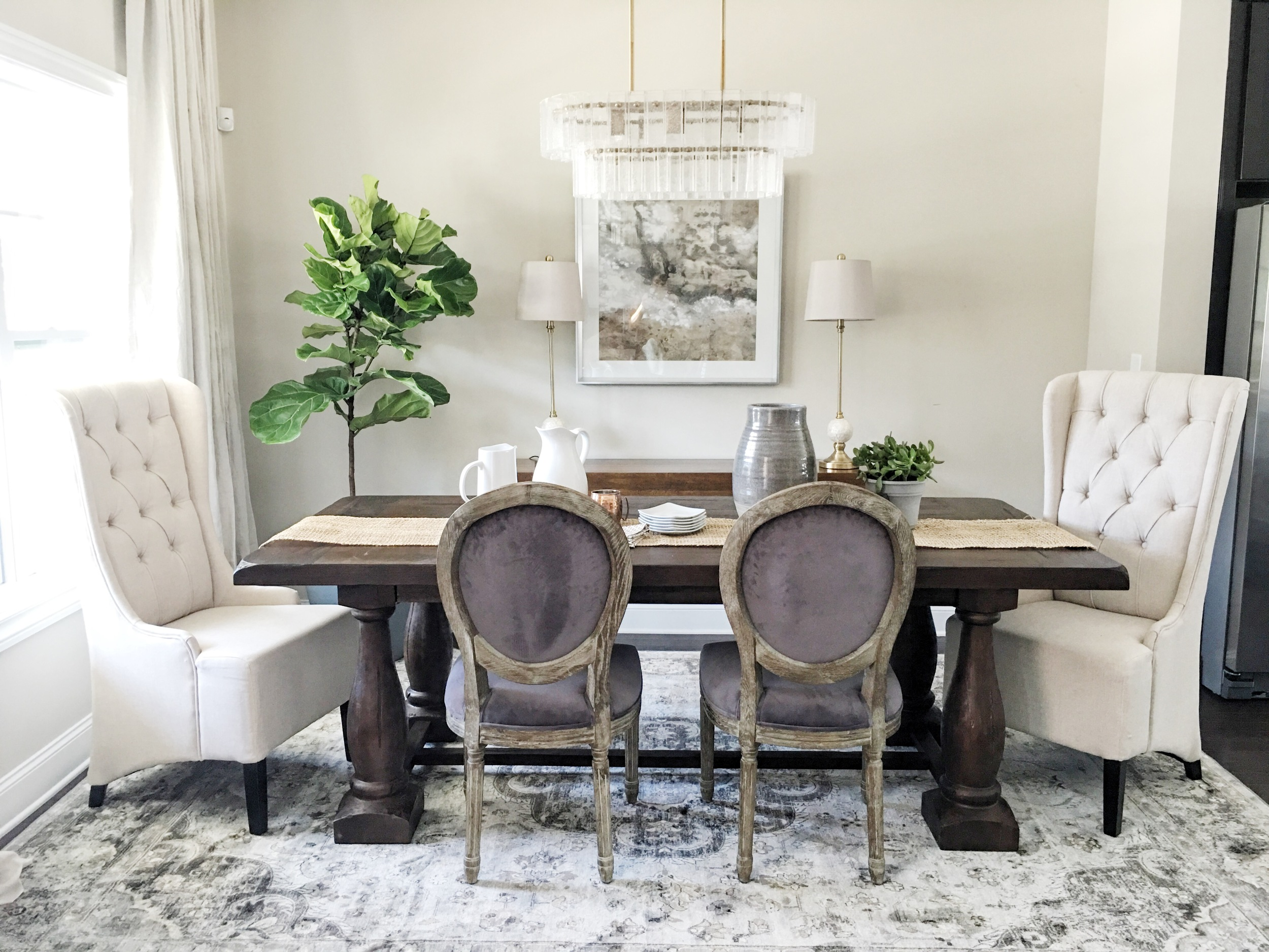 Obsessed with our Dining Room!