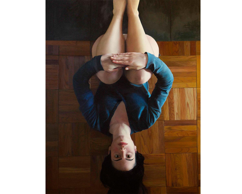 """Summer Salt"", Oil on Canvas, 48"" x 60"", 2014"