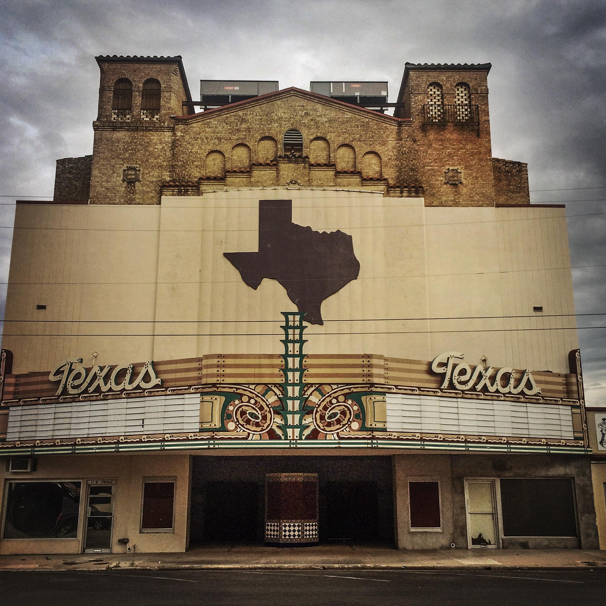 Texas Theater, San Angelo, Texas, 2015