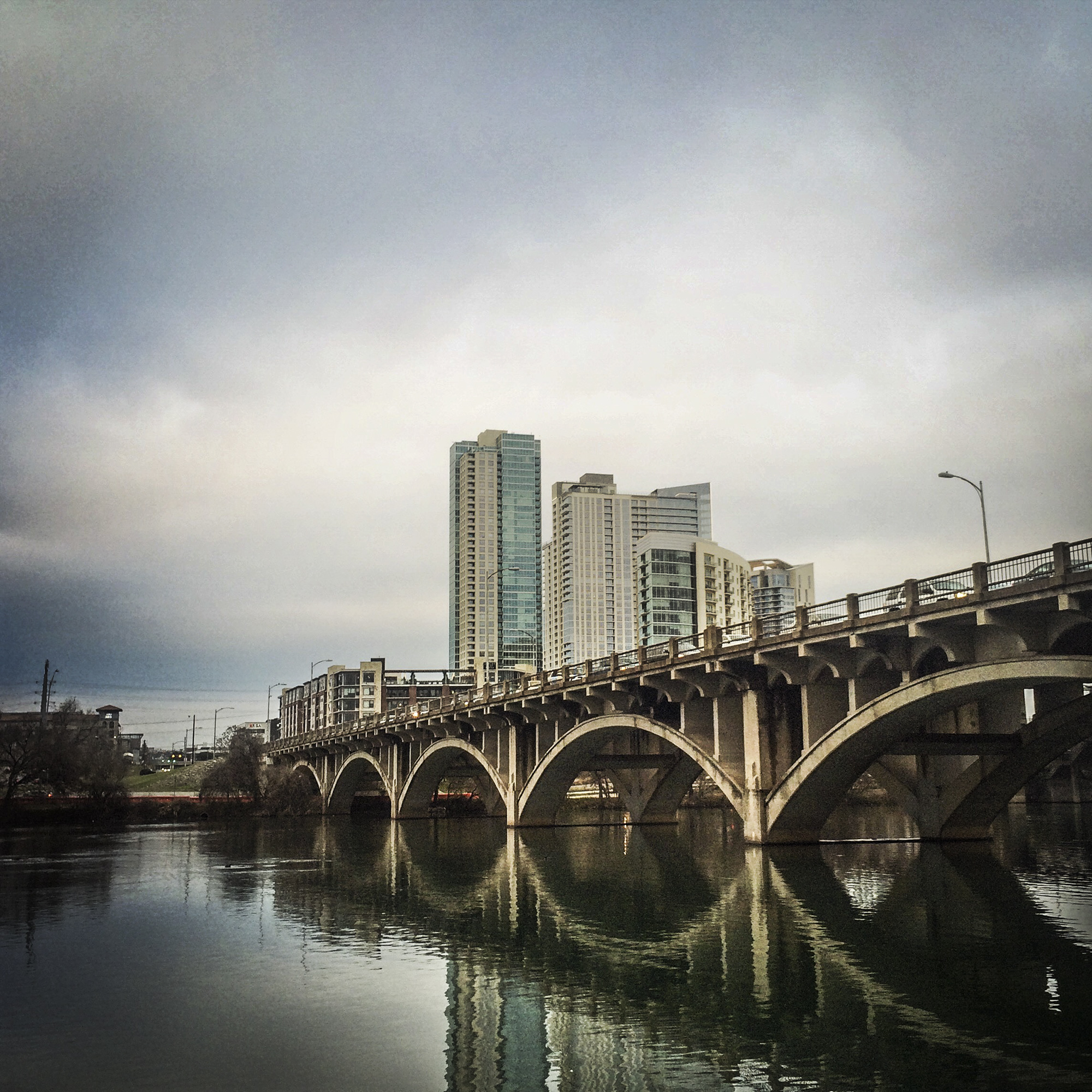 Lamar Boulevard Bridge, Austin, Texas, 2015