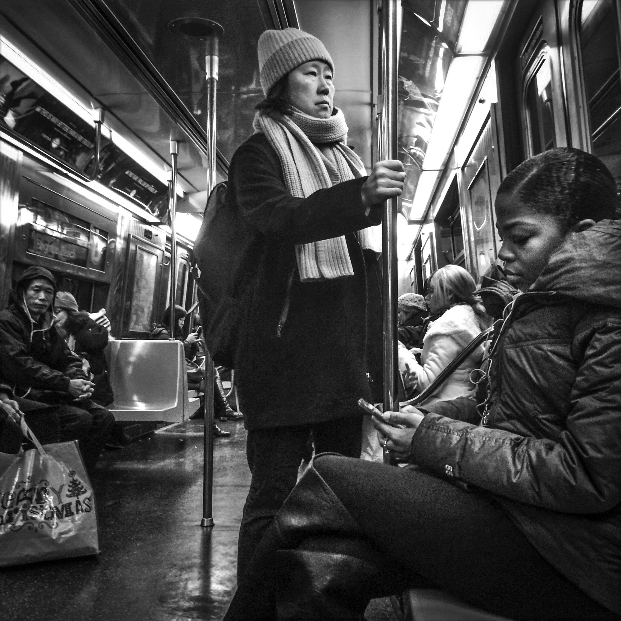 New York Subway, 2015