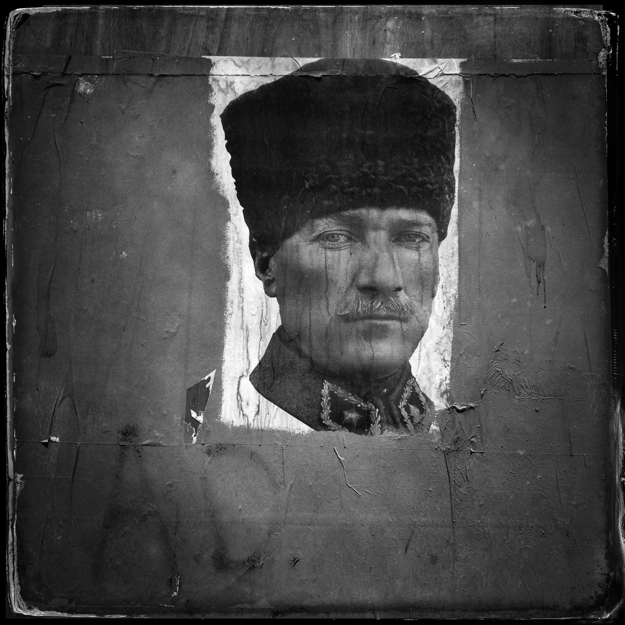 Image of Atatürk, Karaköy, Istanbul, 2013