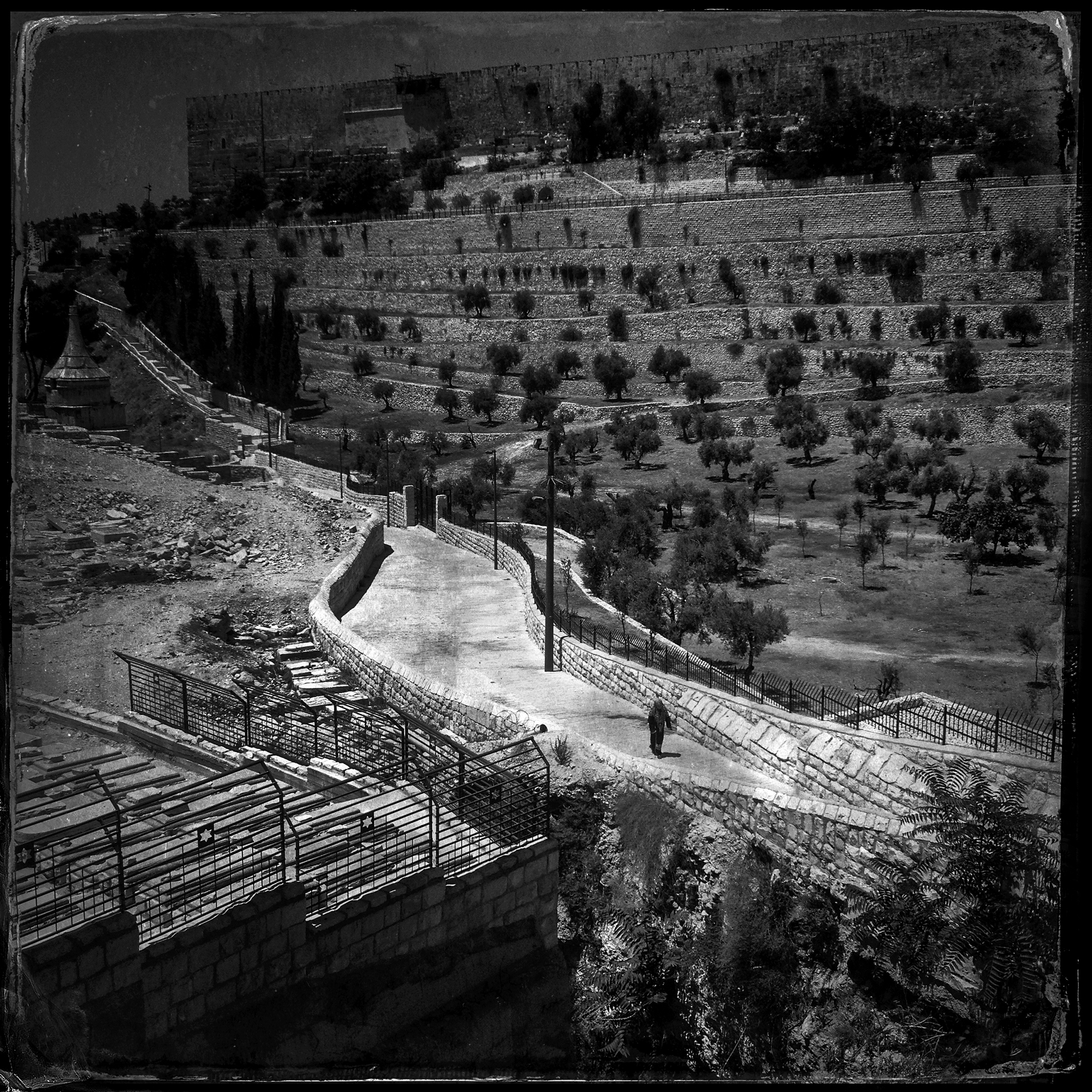 Mount of Olives, Jerusalem, 2013