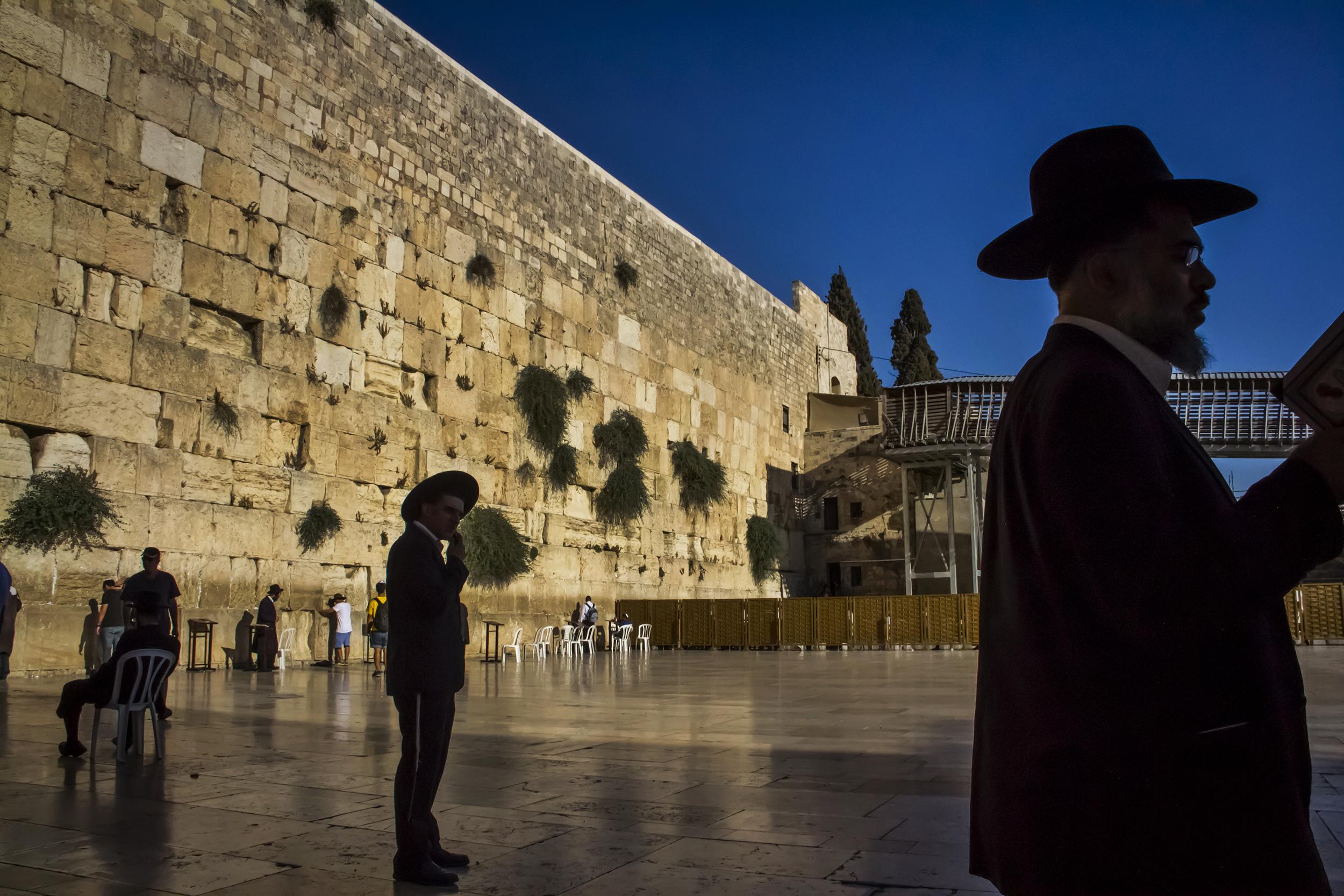 The Western Wall, Jerusalem, 2013