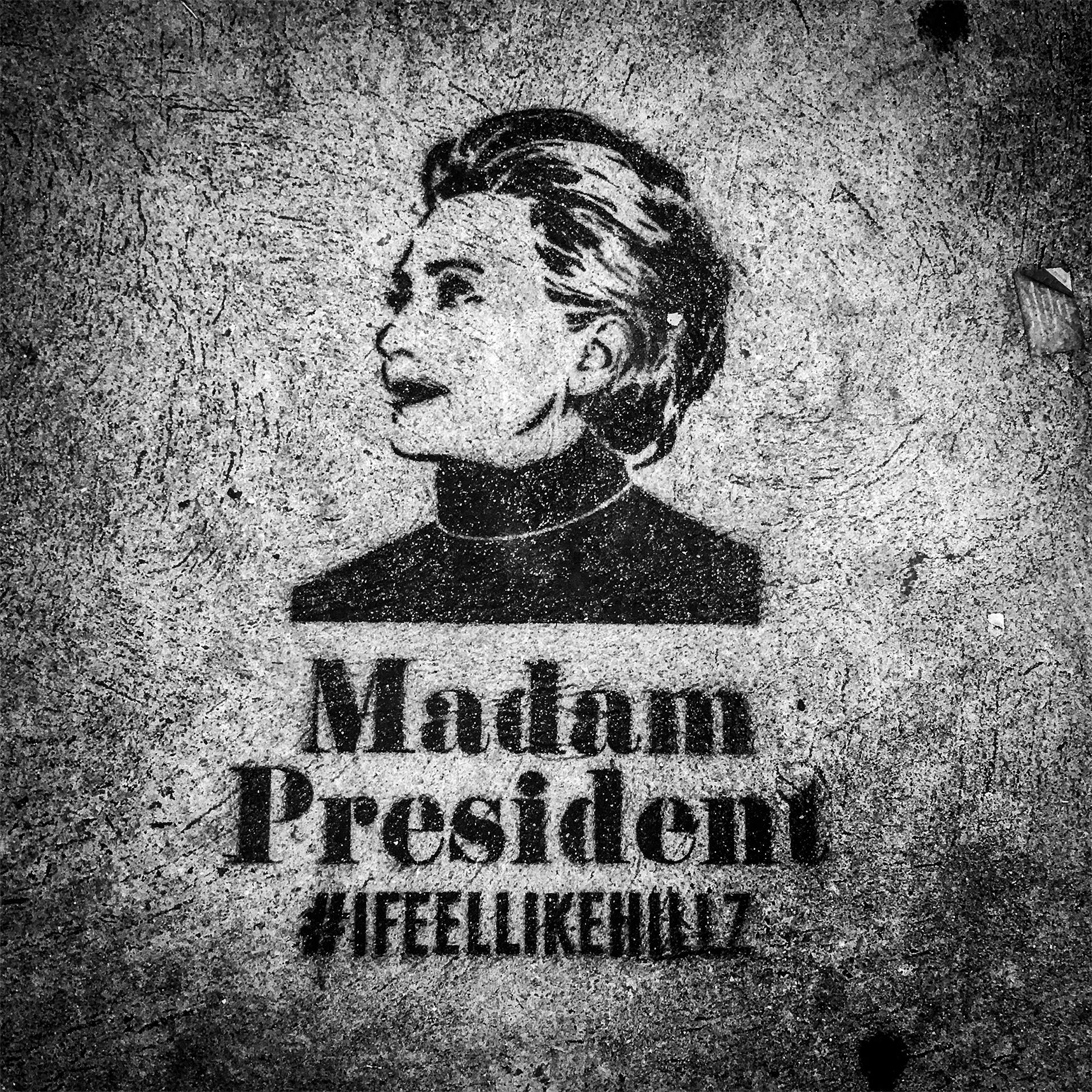 Sidewalk Art, 34th Street, 2016