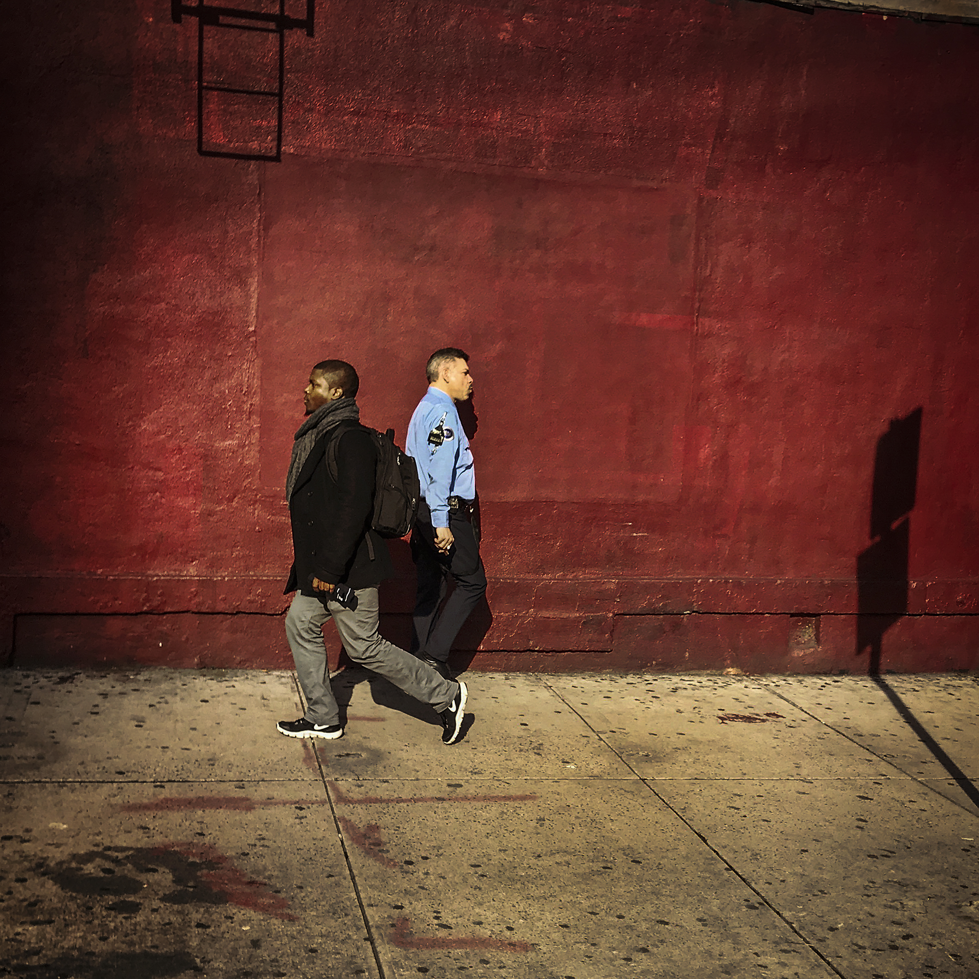 Red Wall, Upper East Side, 2018