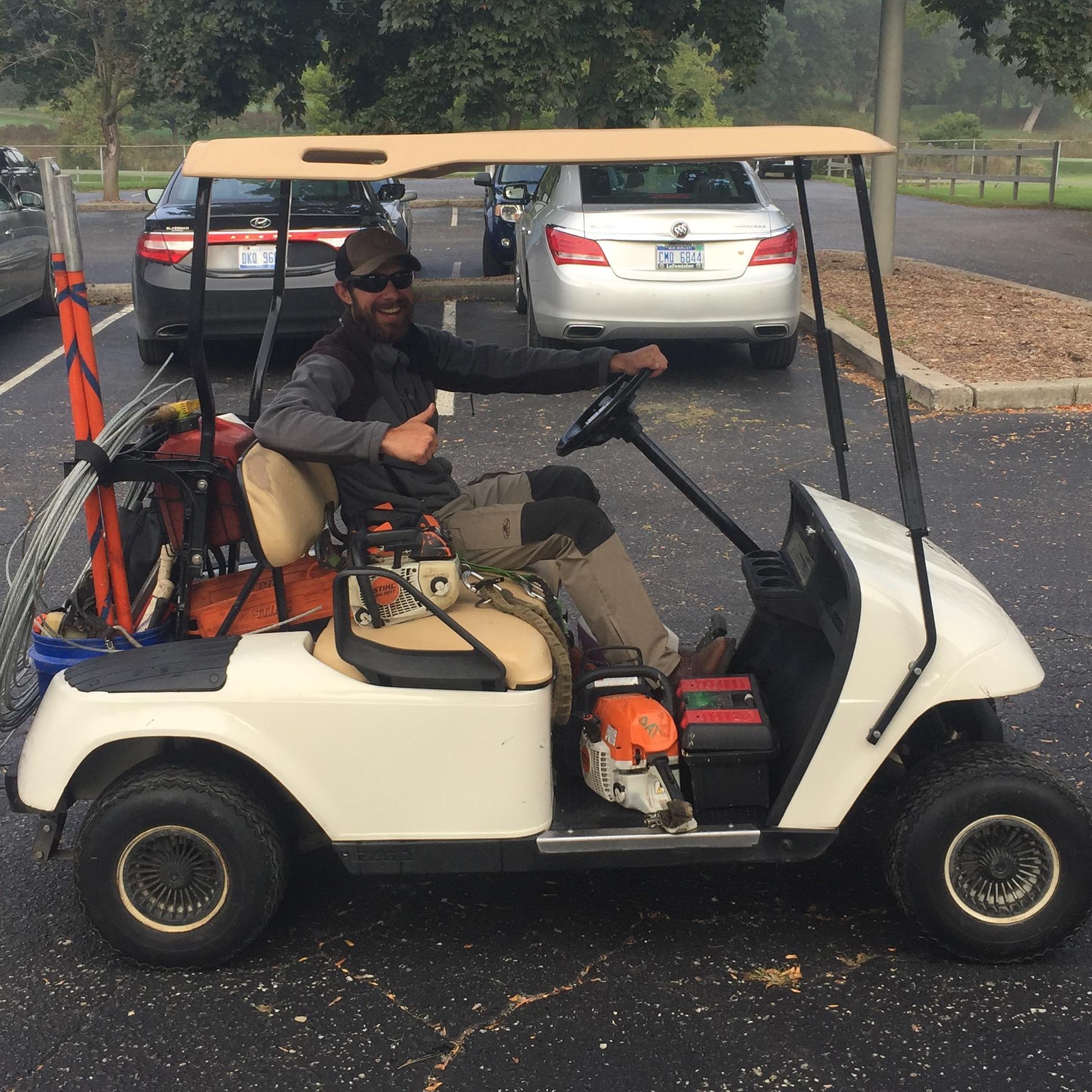 Golf cart arborism