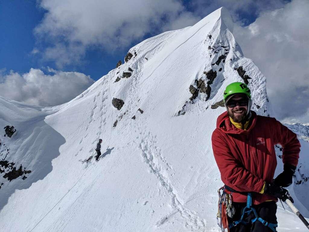 Summit of Chair Peak