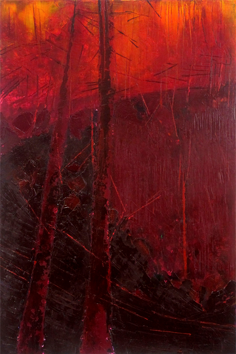 Red Forest (Left)