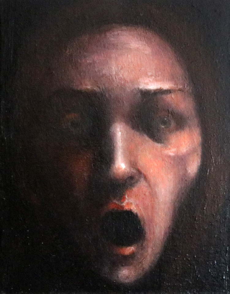 """Without a Word 14"""" x 11"""" Oil on Linen"""
