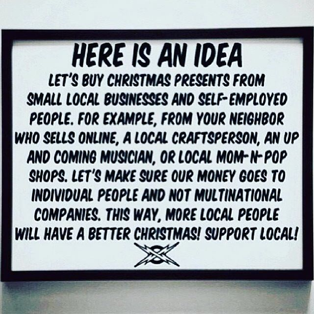 Tag your favorite local artist, artisan, mom-n-pop store, service and let's build community!