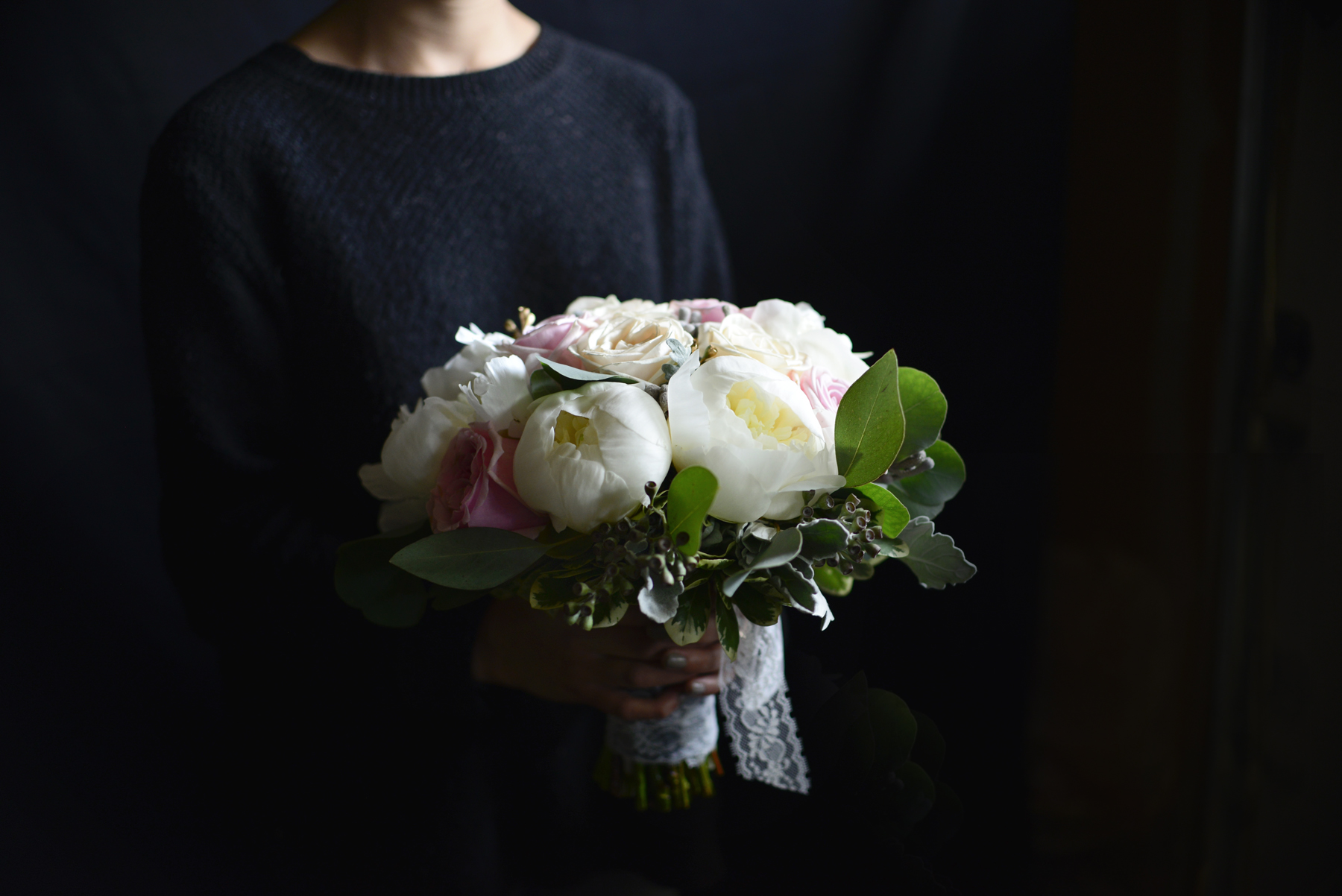 Kayley's Bridal Bouquet