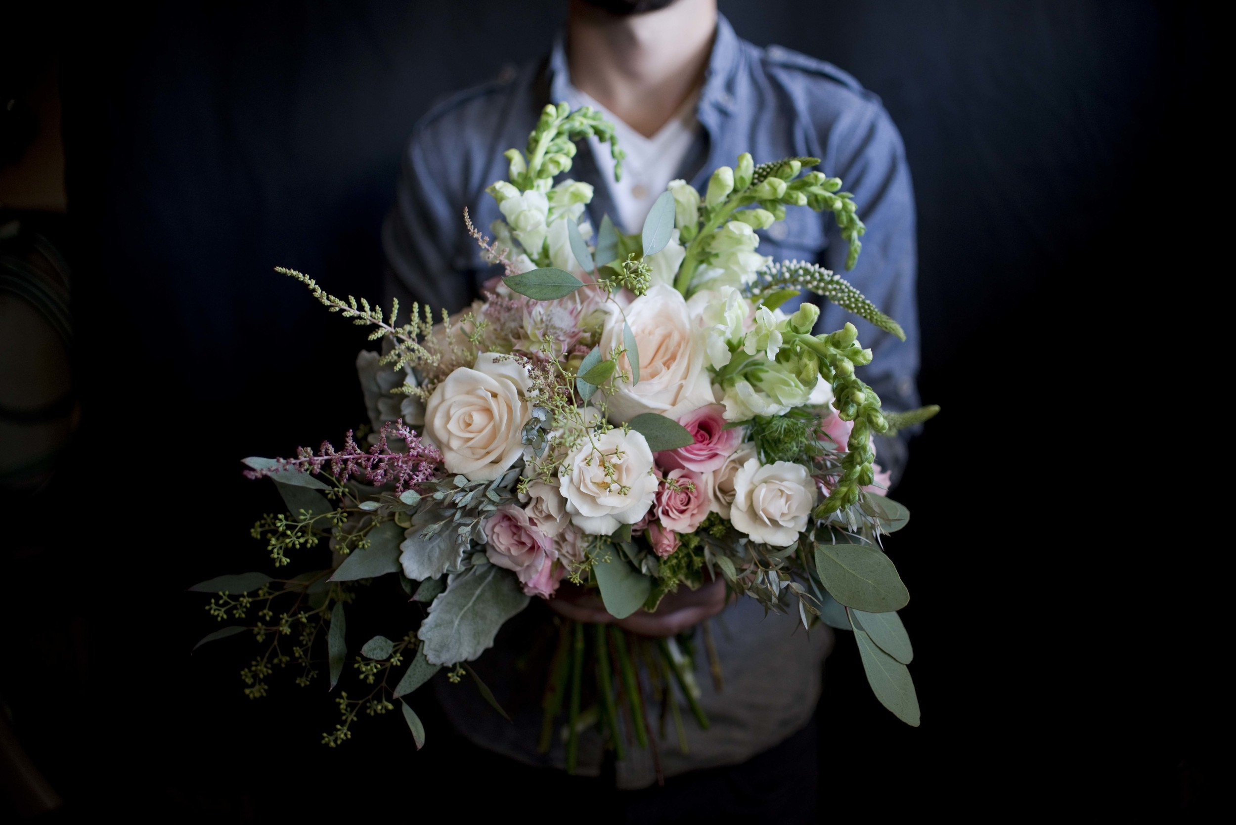 Deanna's Bridal Bouquet