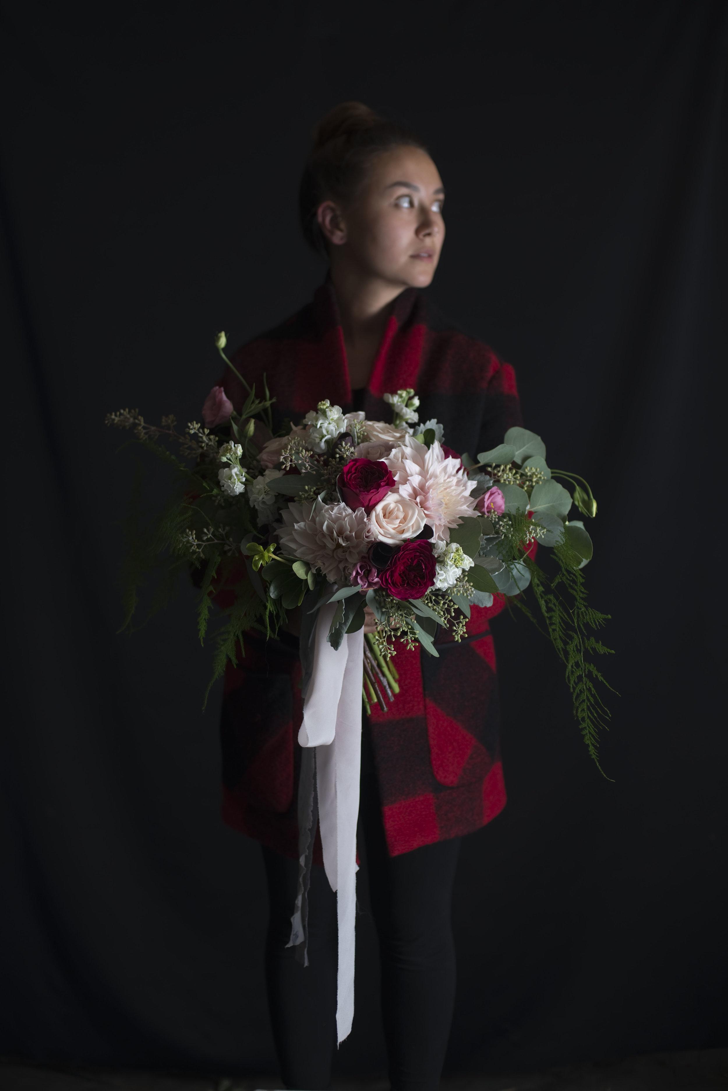 Tram's Bridal Bouquet