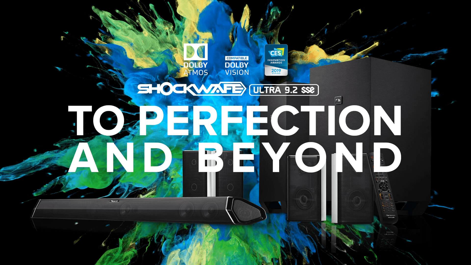 Nakamichi Usa True Surround Soundbar With Dolby Atmos Dts X