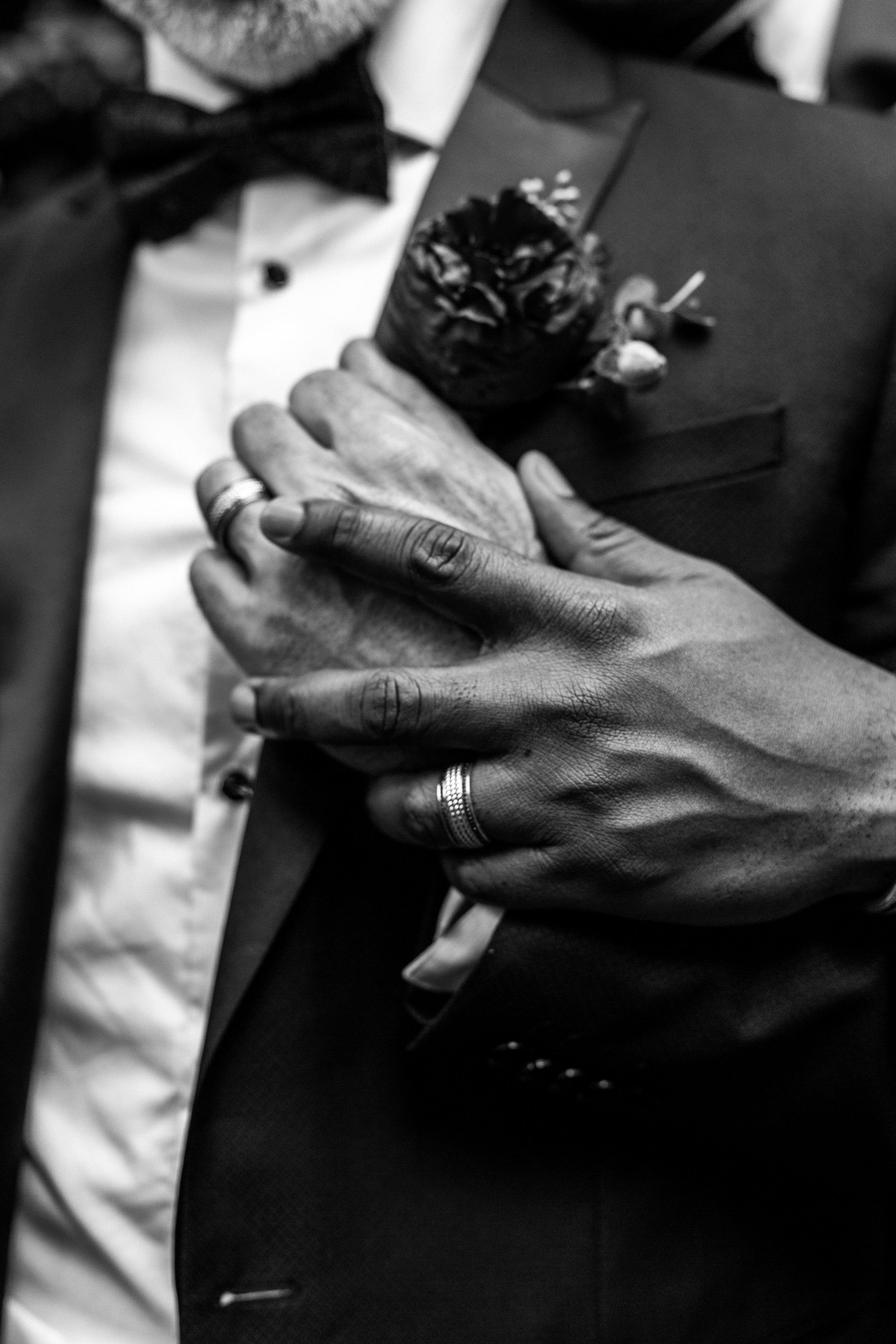 Ken + Maurice - real wedding