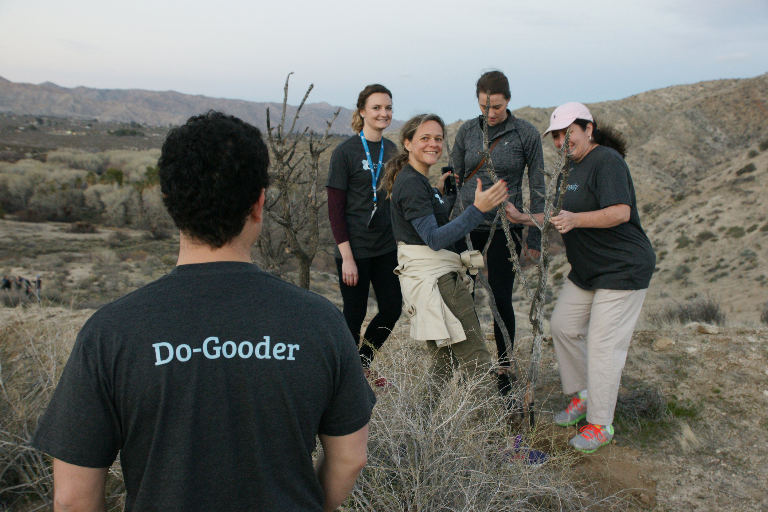 CSR leaders from Fortune 1000 companies volunteer together