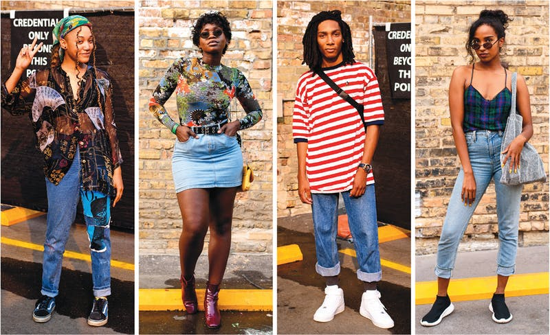 City Pages Street Style @ Pizza Luce Block Party.