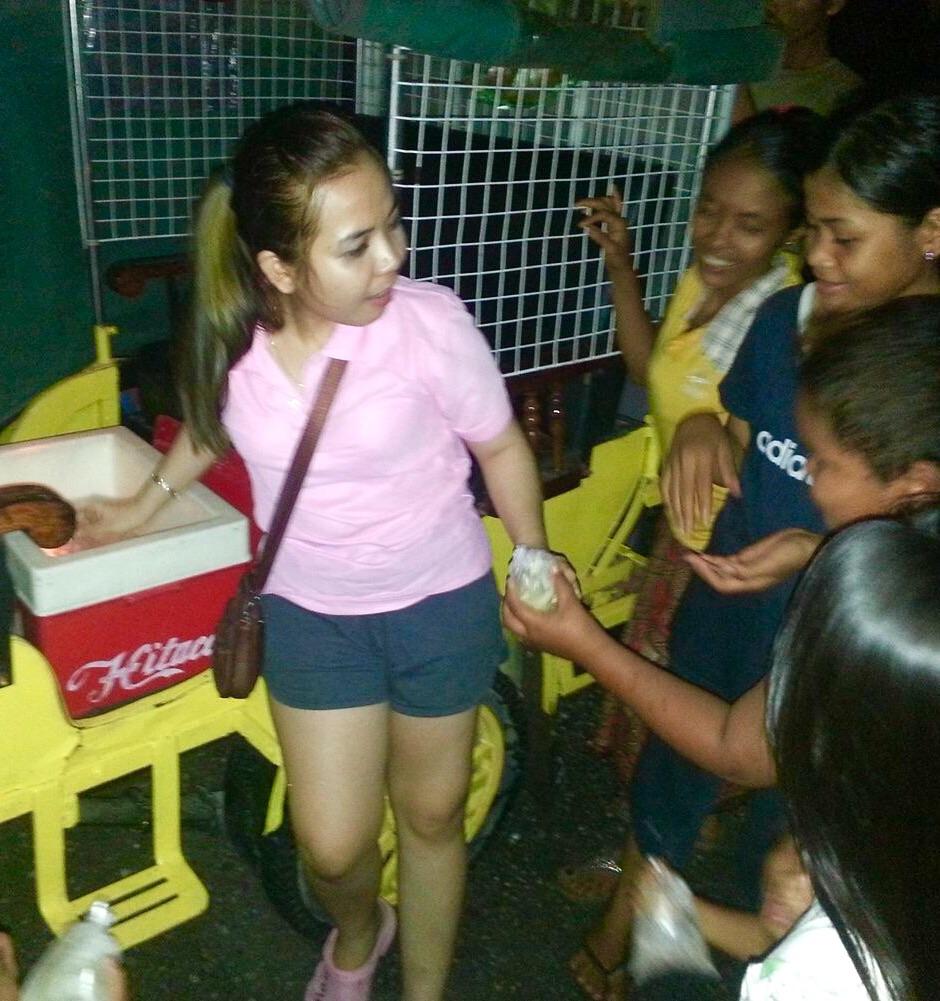 Rita with the kids