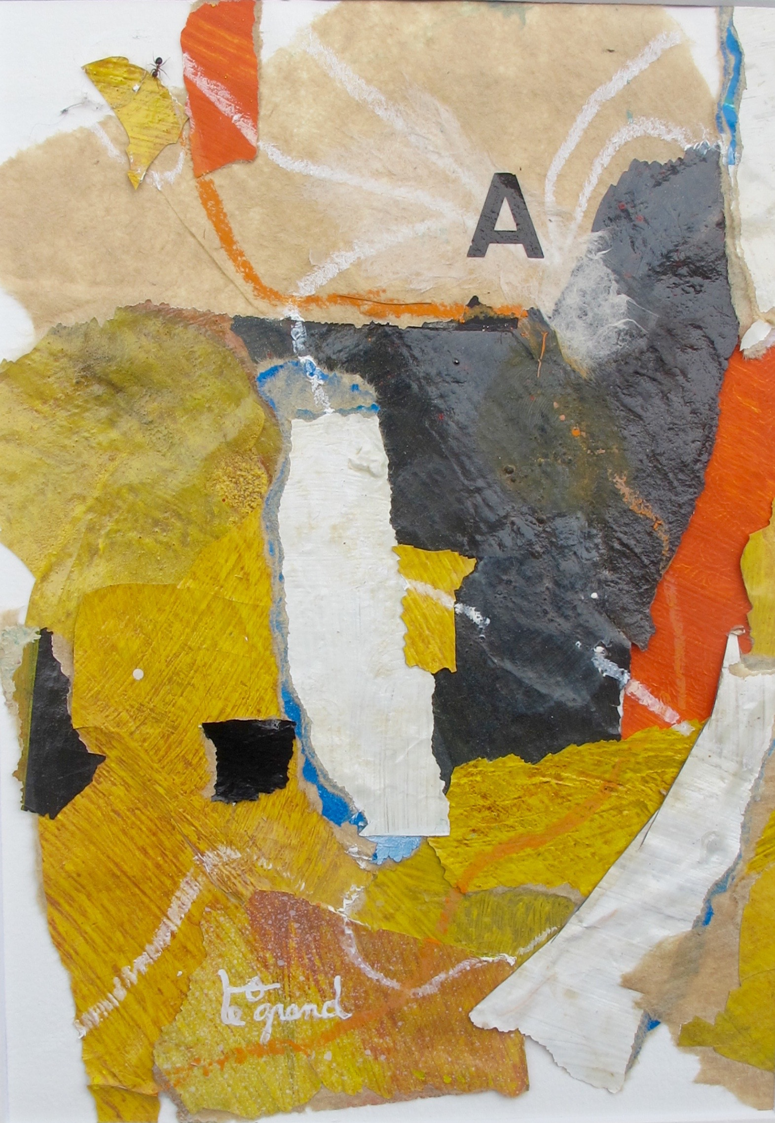 """  A 1  "" 20 x 15 cm , collages"