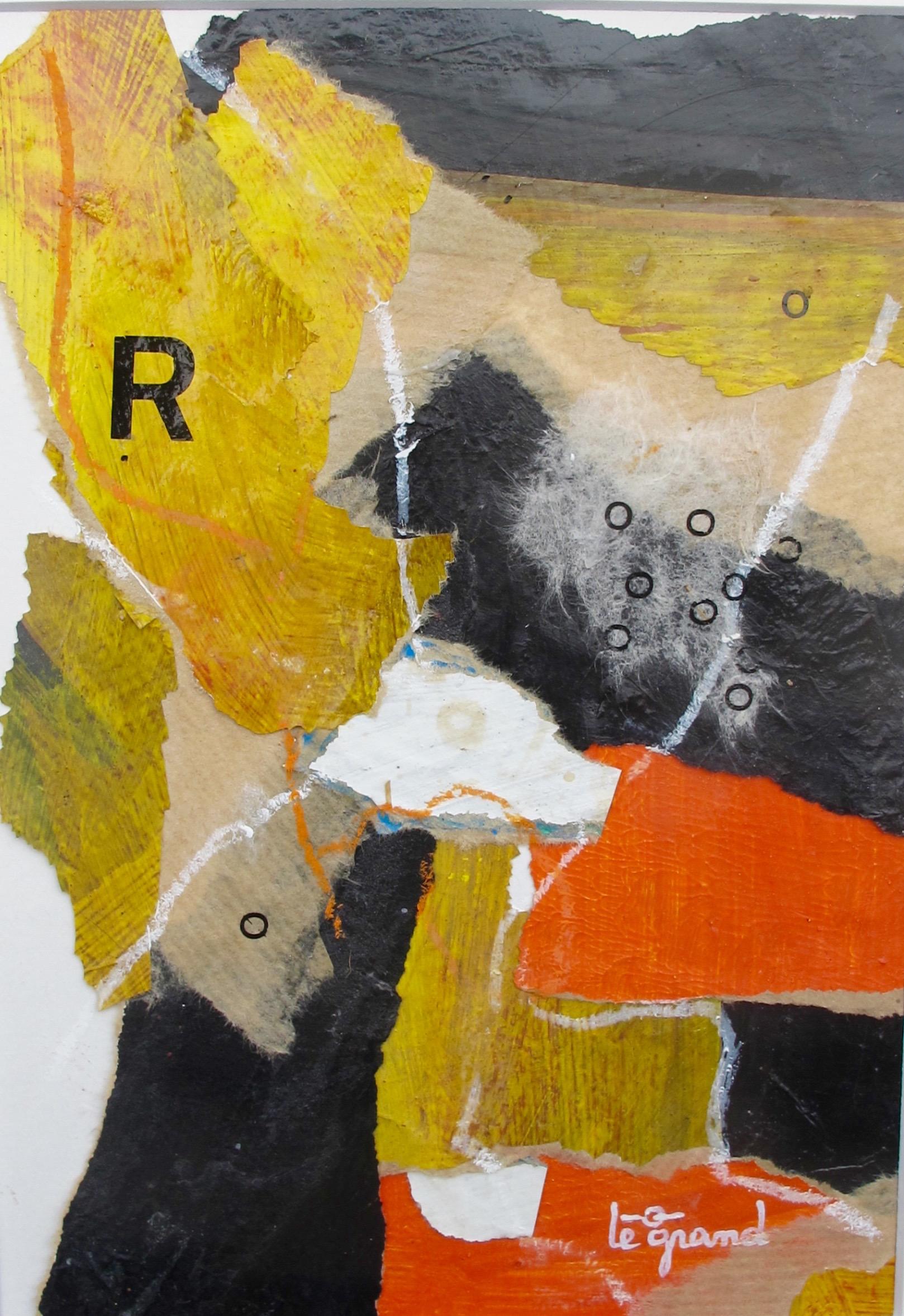 """  R  "" 20 x 15 cm collages"