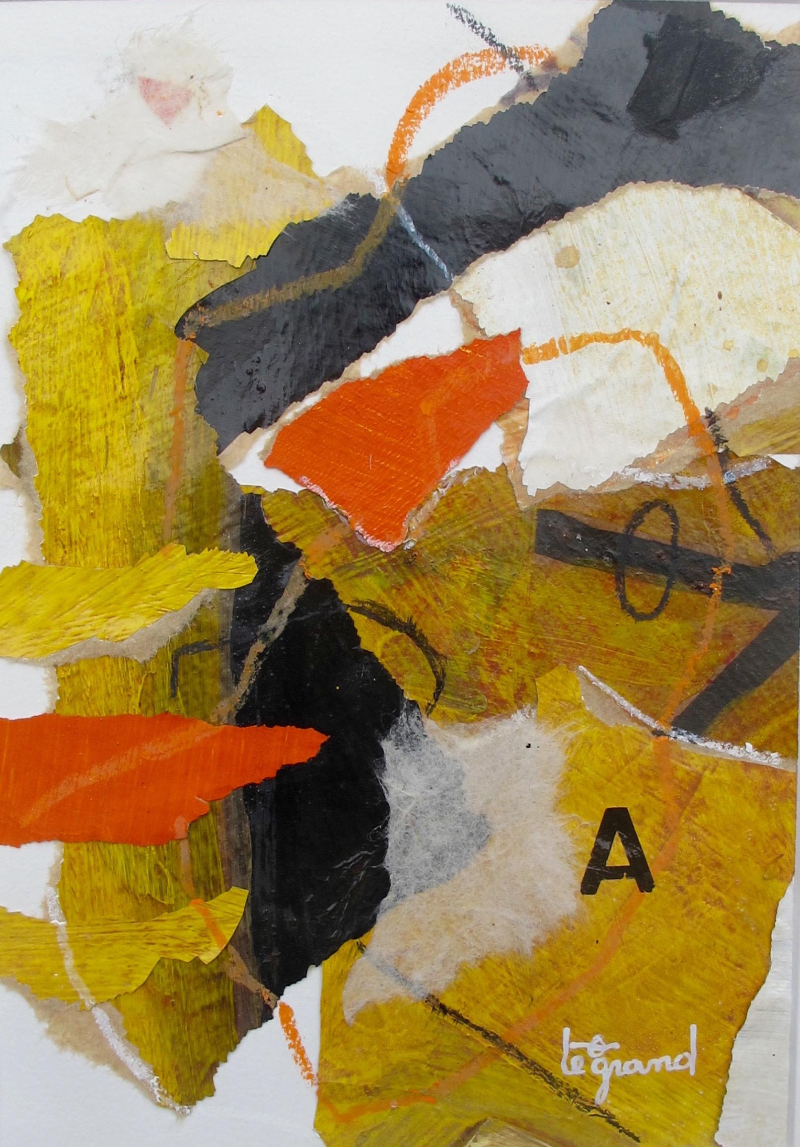 """ A 2 ""  20 x 15 cm , collages"