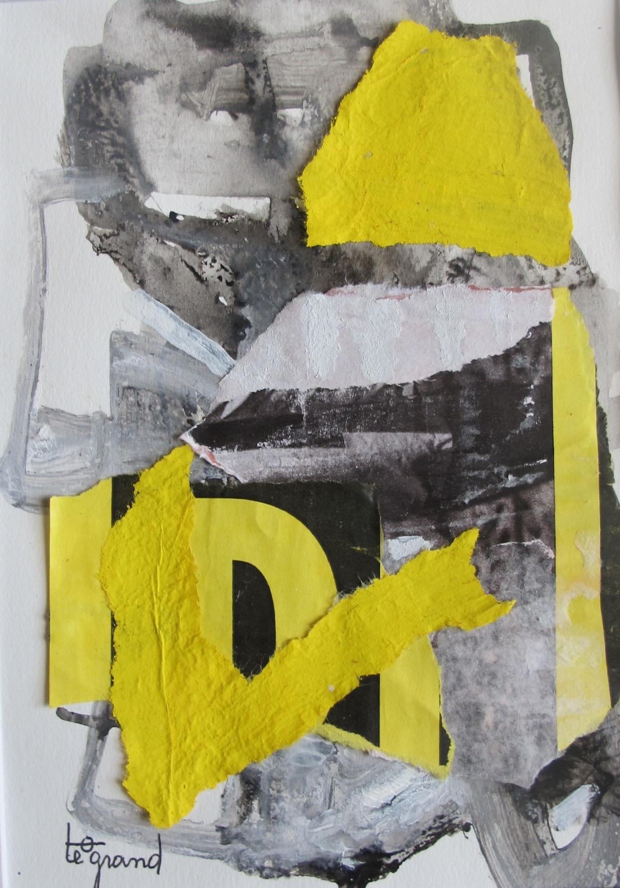 """"""" eric """"  20 x 15 cm , collages"""