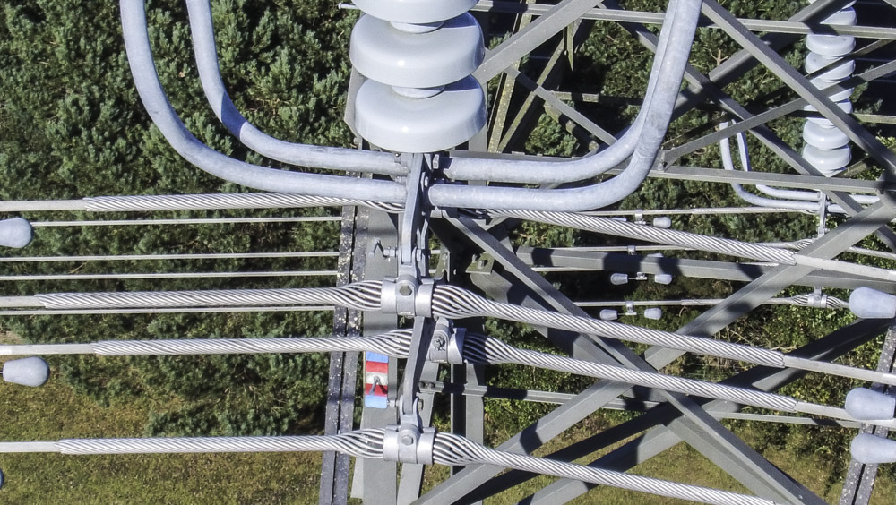 UAV pylon inspection